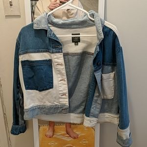 Wild Fable Colorblock Jean Jacket